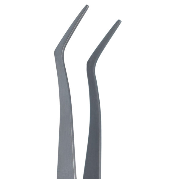 special purpose holding Curved Points tweezers