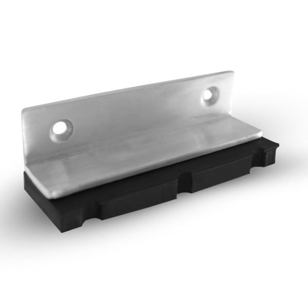 steel and rubber bench block